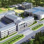 Строительство школы на 600 мест в бухте Казачья.