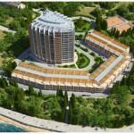 Строительство 16-этажного культурно-оздоровительного комплекса в бухте Круглая в г.Севастополь.