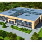 Строительство школьно-дошкольного комплекса нового типа на 1056 учащихся в пгт.Конча-Заспа Киевской области общей площадью 60 тыс.м2.