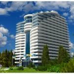 Строительство рекреационного комплекса в пгт.Гаспра, АР Крым, общей площадью 66 тыс.м2.